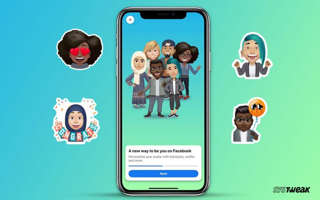 Facebook Launches Bitmoji Competitor – Avatars in the US