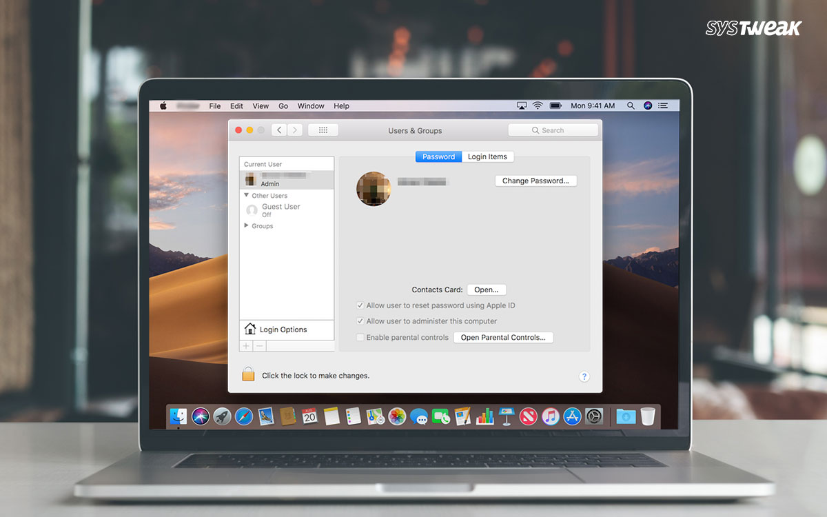 How To Delete A User, A Guest and An Admin Account On Mac