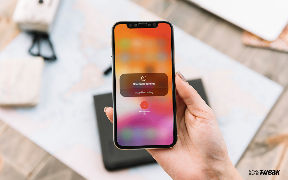 How To Screen Record On iPhone With Sound
