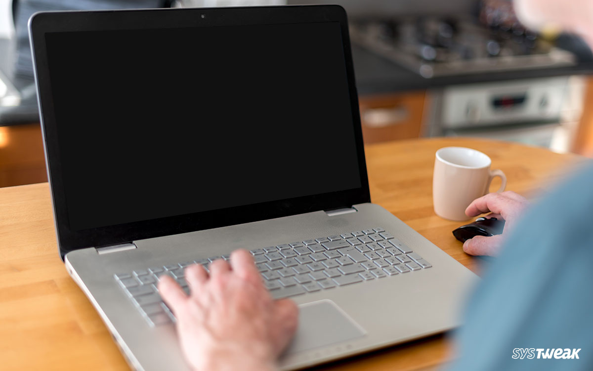 How to Fix Laptop Black Screen Issue on Windows 10, 8, 7