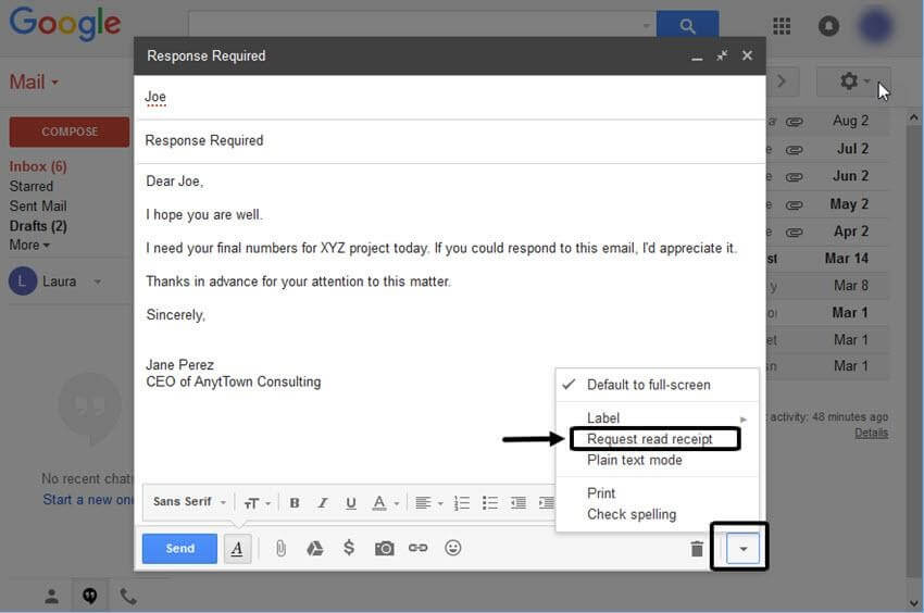 how to read my emails on gmail
