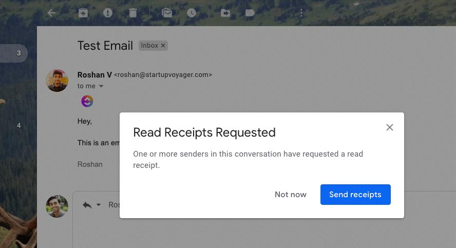 تتبع حالة قراءة البريد الإلكتروني من خلال تمكين ميزة استلام قراءة Gmail 2