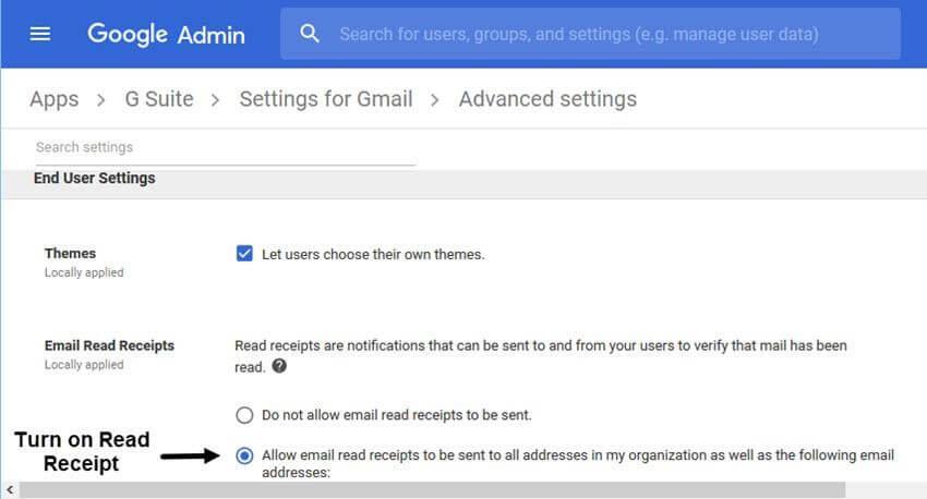 تتبع حالة قراءة البريد الإلكتروني من خلال تمكين ميزة استلام قراءة Gmail