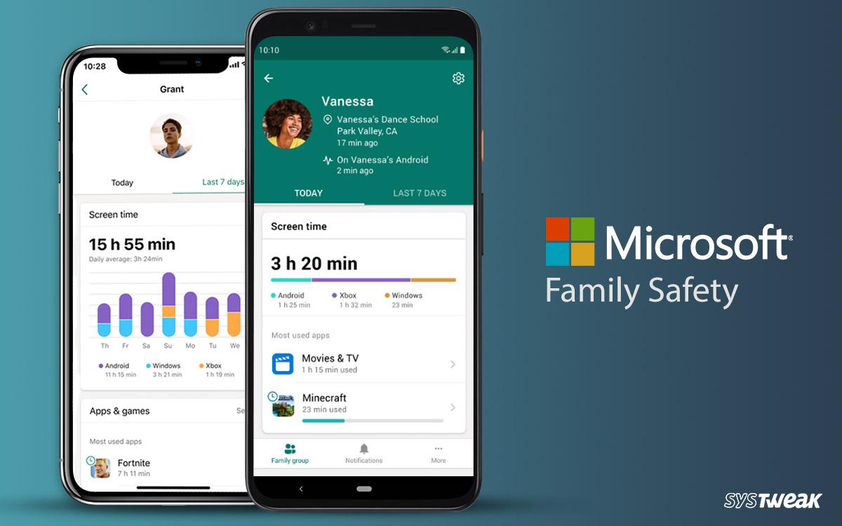 Aplicativo Microsoft Family Safety – Preview Edition para iOS e Android