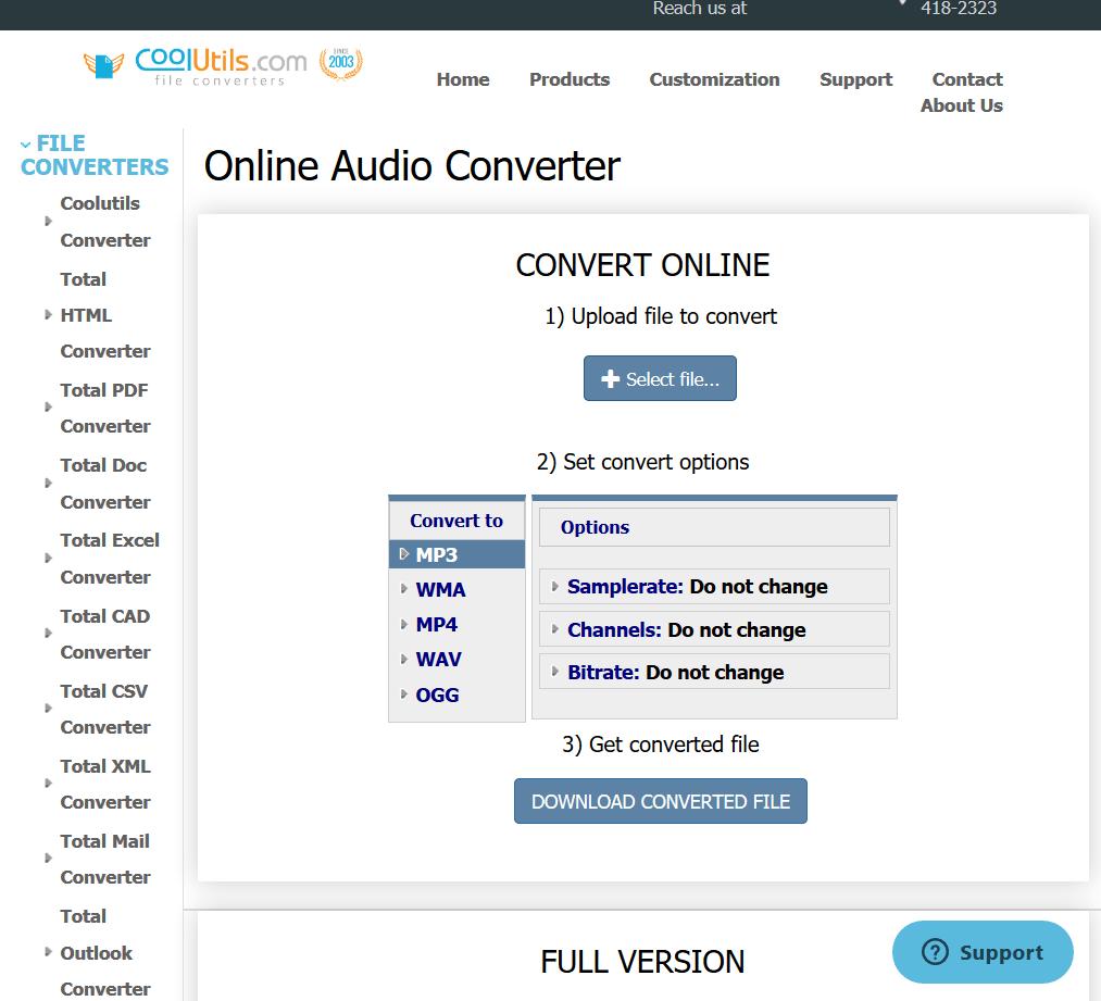 Switch MP3 Music Converter - Convert MP3 Files Free
