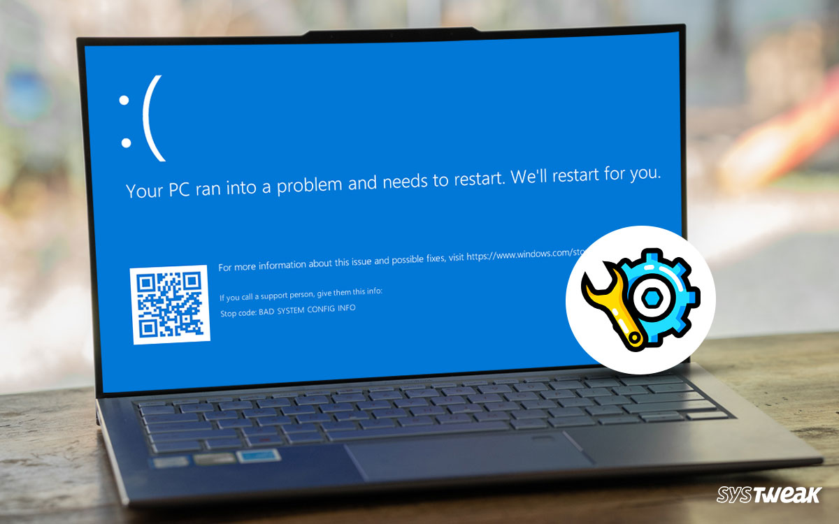 """How To Fix """"Your PC Ran Into a Problem and Needs to Restart"""" On Windows 10"""