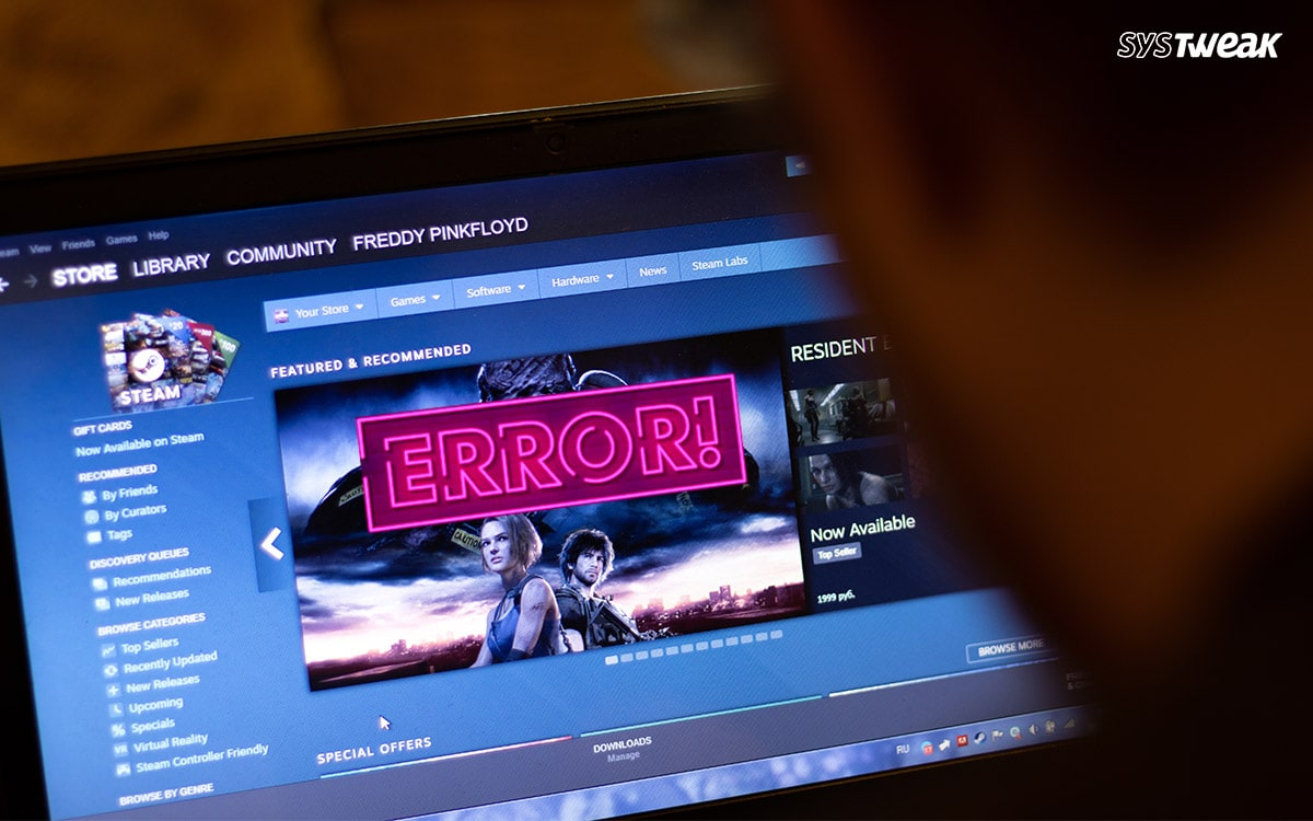 How to Fix Steam Disk Write Error Easily on Windows 10