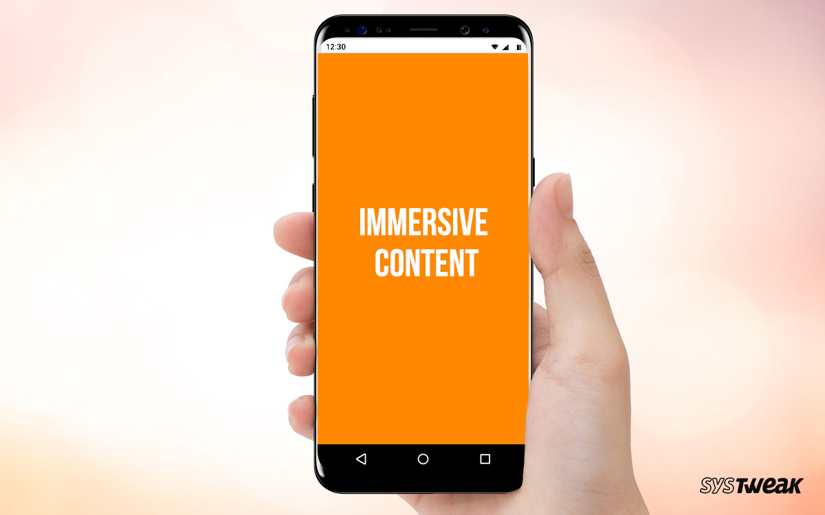 Immersive Mode in Android – Is It Possible?