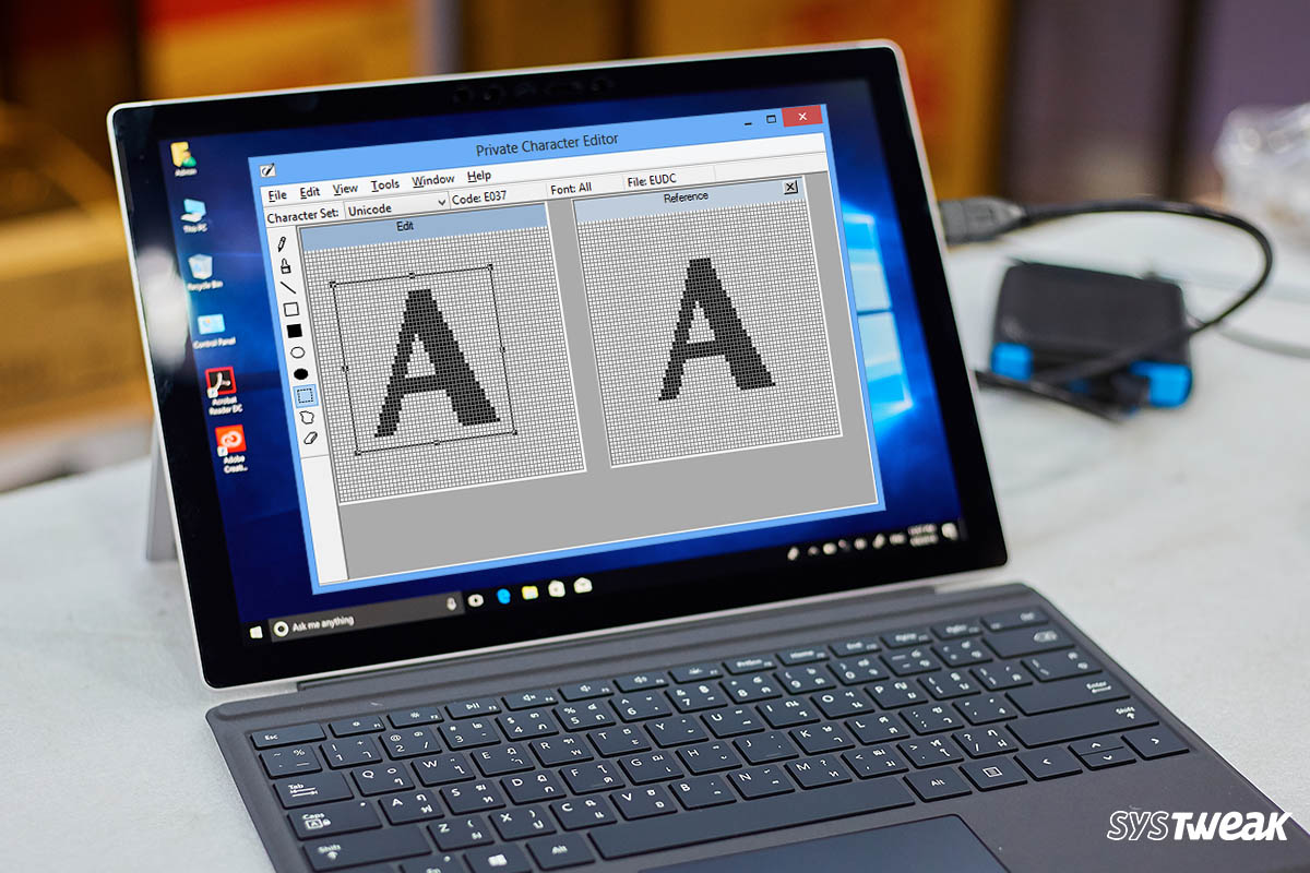 How To Create Your Font With Windows Private Character Editor