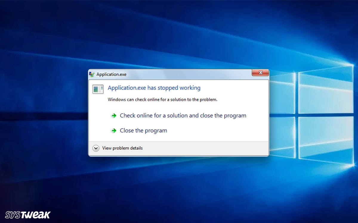 How To Fix .EXE Has Stopped Working In Windows 10?