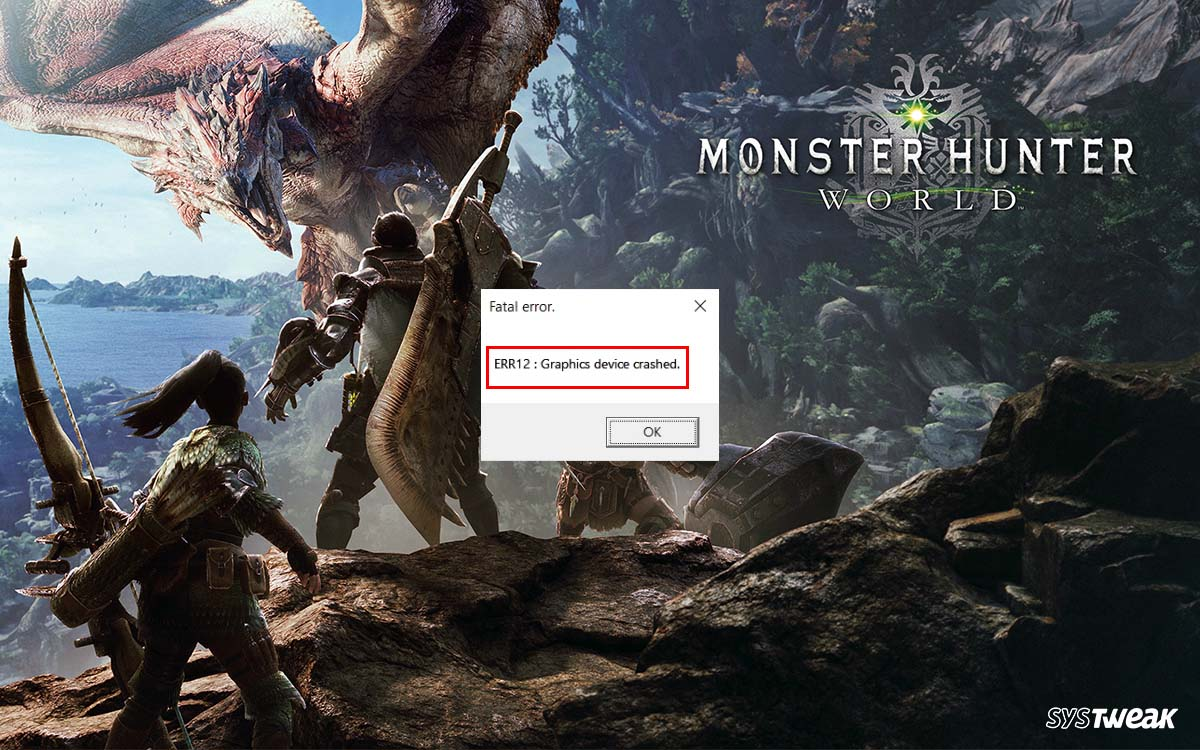How To Fix Monster Hunter World PC Crash Problem