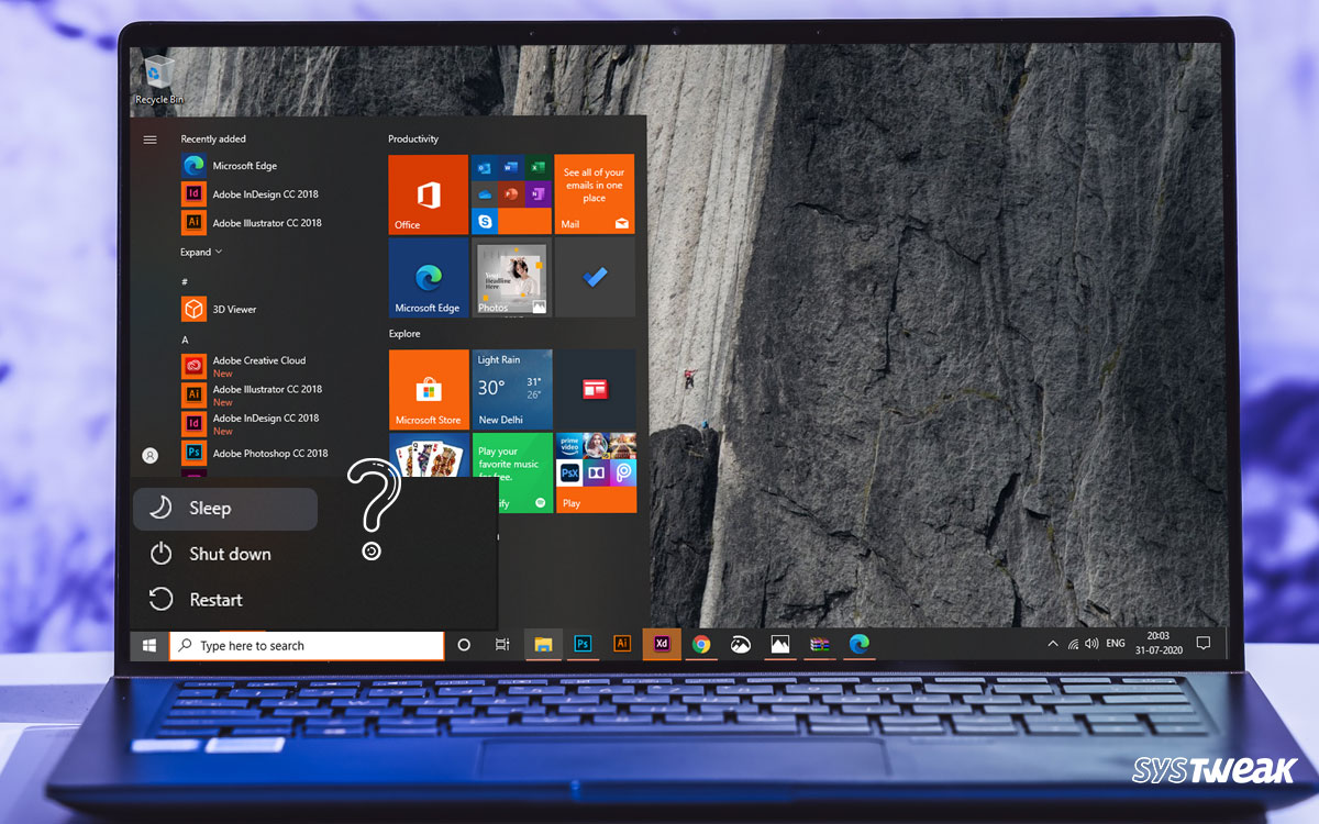How To Fix Windows 10 Sleep Option Missing