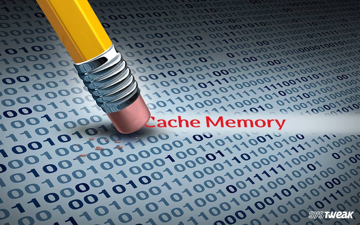 How to Clear Cache Memory on Windows 10