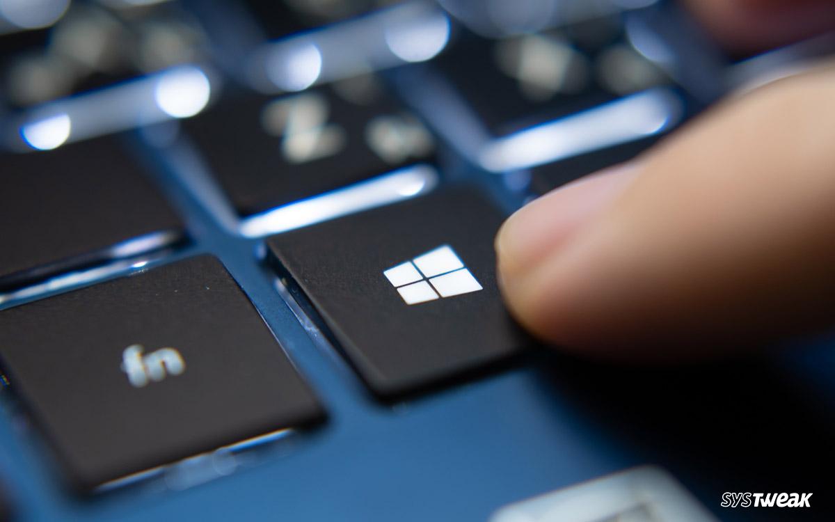 How To Fix Window Key Not Working In Windows 10 PC?