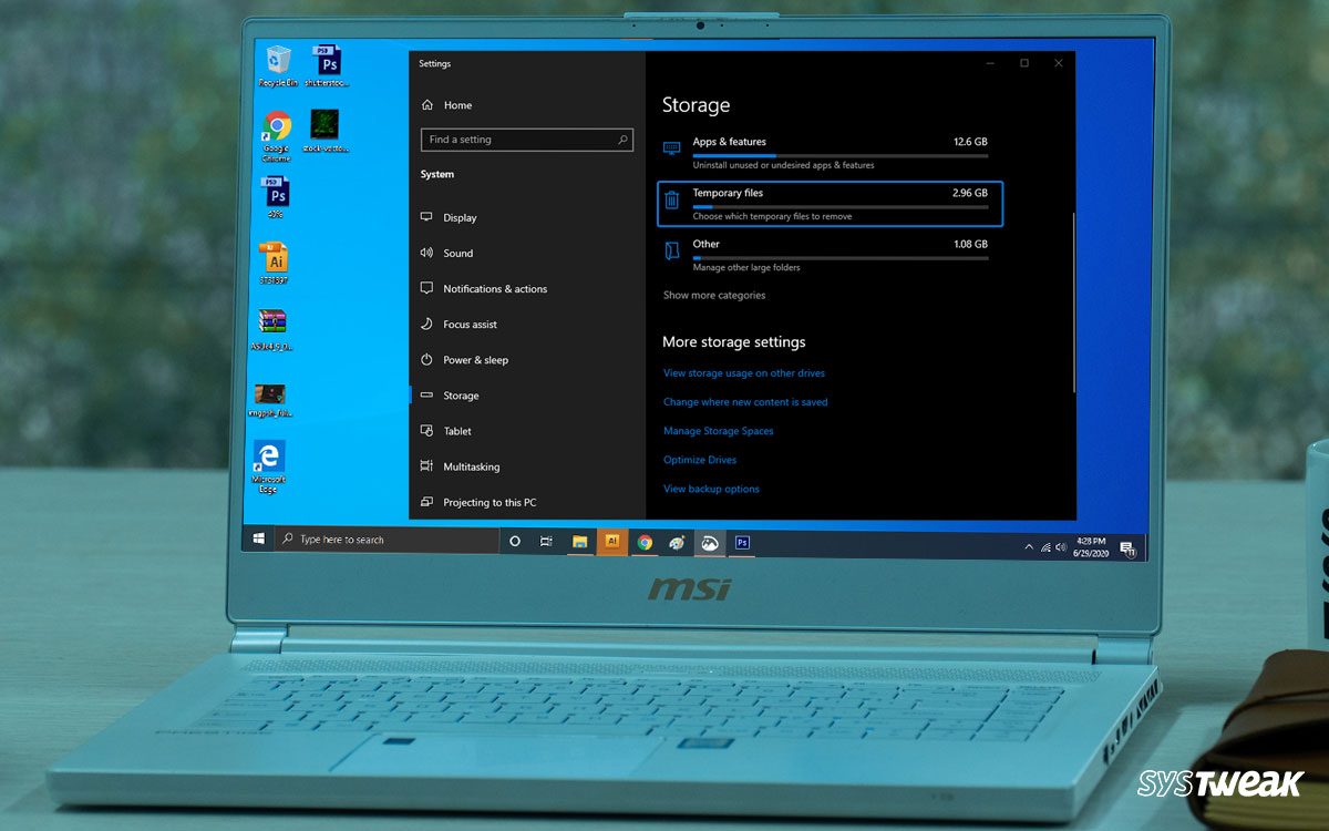 How To Fix Windows 10 Temporary Files Not Deleting?