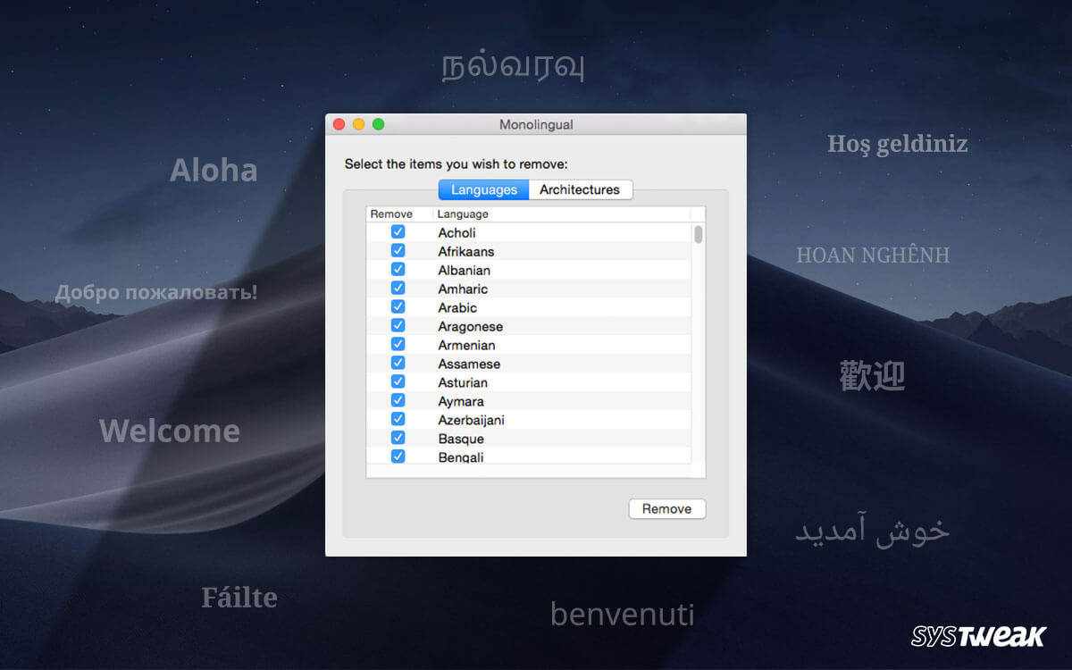 How To Remove Unused Languages From Mac
