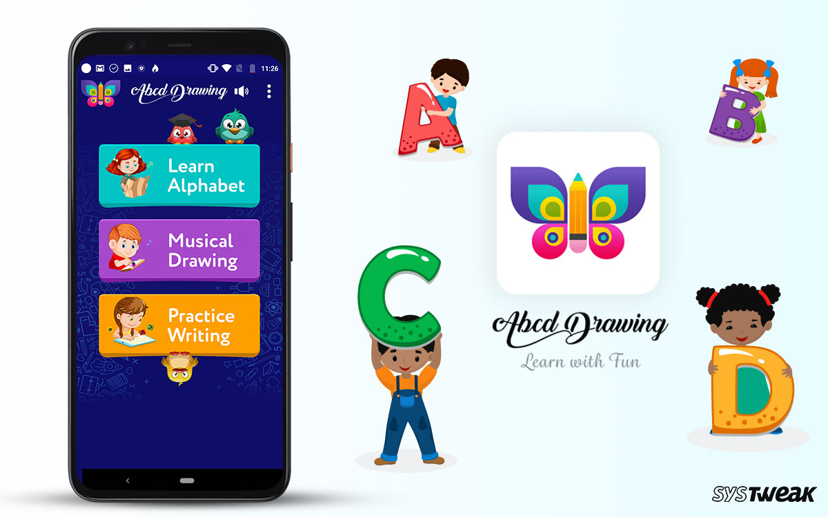 Review – ABCD Drawing App: Best Learning App for Innovative Minds