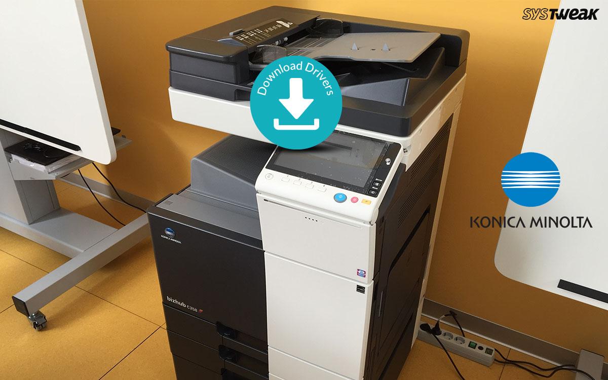 How To Download & Install Konica Minolta Printer Drivers?