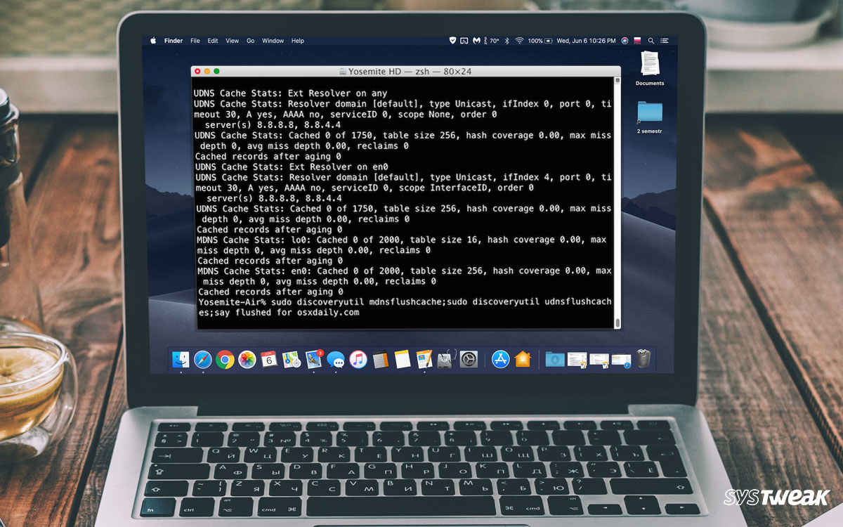 How To Find And Clear DNS Cache On Mac Completely