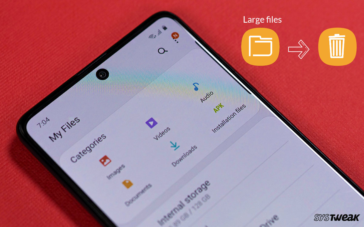 How To Remove Large Files From Android Without Manual Search