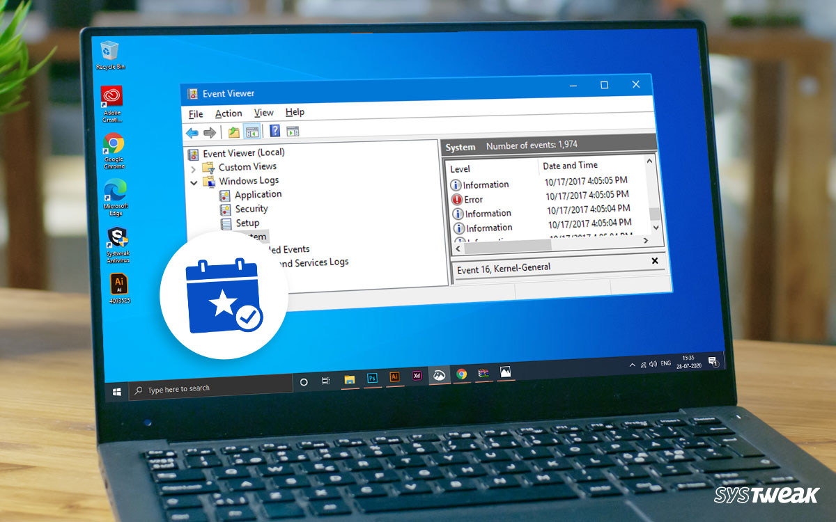 How to Use the Windows Event Viewer? Why is it useful?