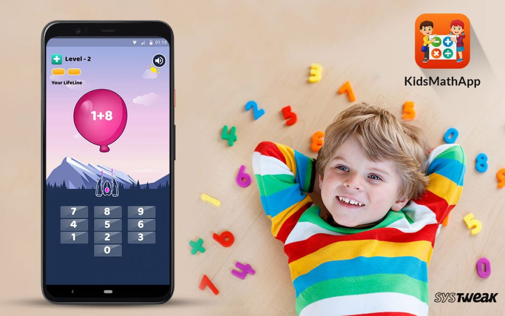 Systweak Launches KidsMath App for Toddlers, Pre-schoolers & Elementary Learning