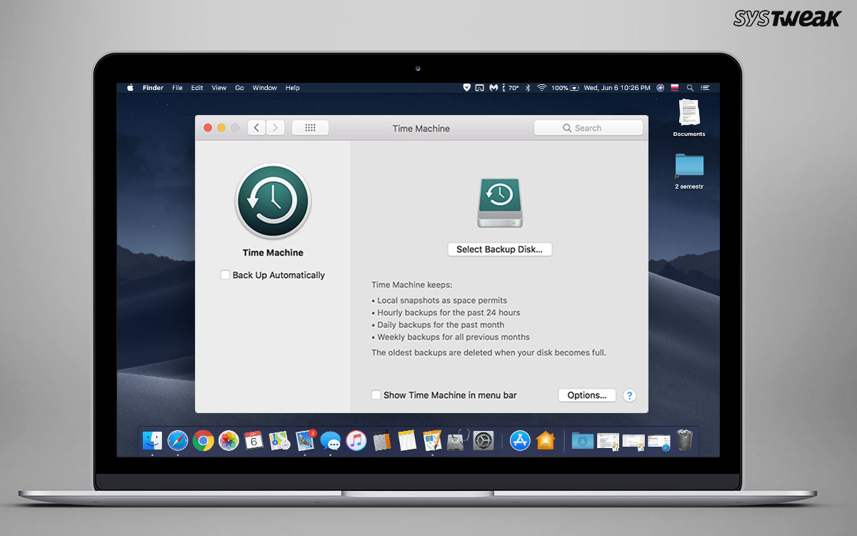How To Clear Time Machine Backups From Mac