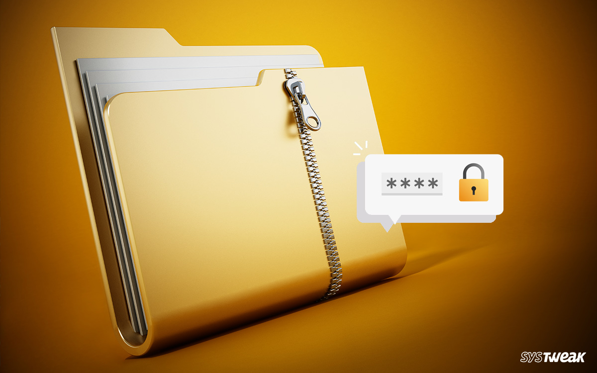 How To Password Protect A Zip File and Folder