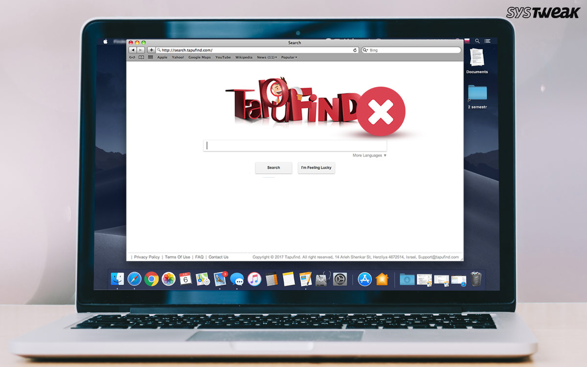 How to Delete TapuFind Virus from Mac & From Installed Browsers