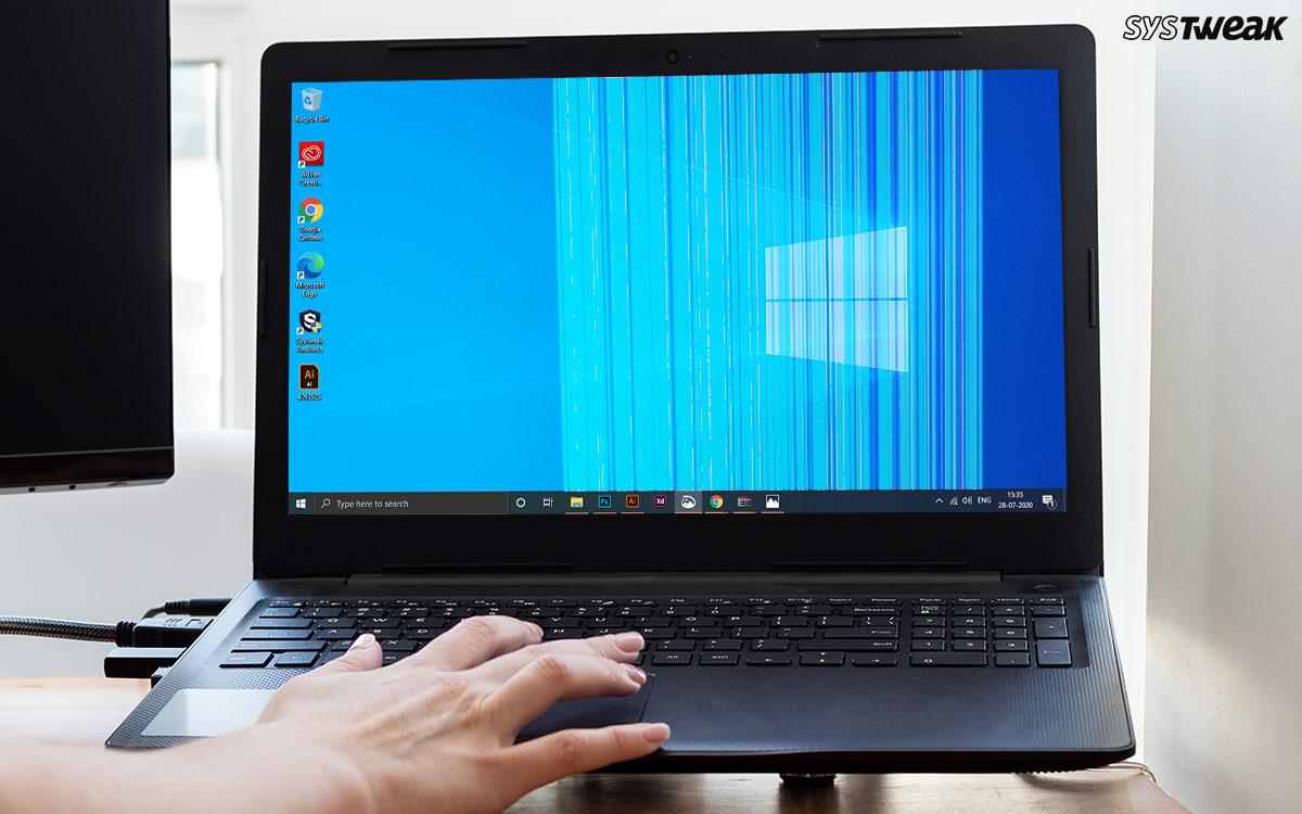 How Do I Fix Horizontal/Vertical Lines On My Windows 10 Computer Screen