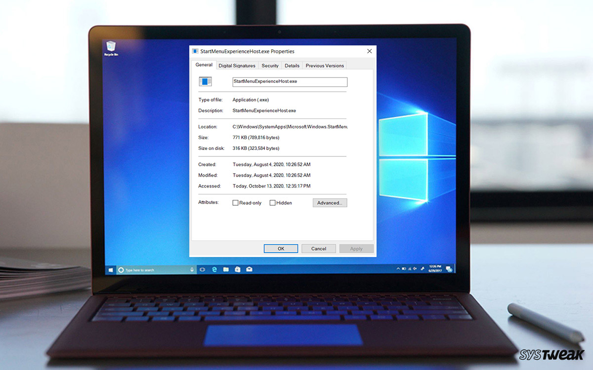 What is StartMenuExperienceHost.exe In Windows 10 And How To Disable It?