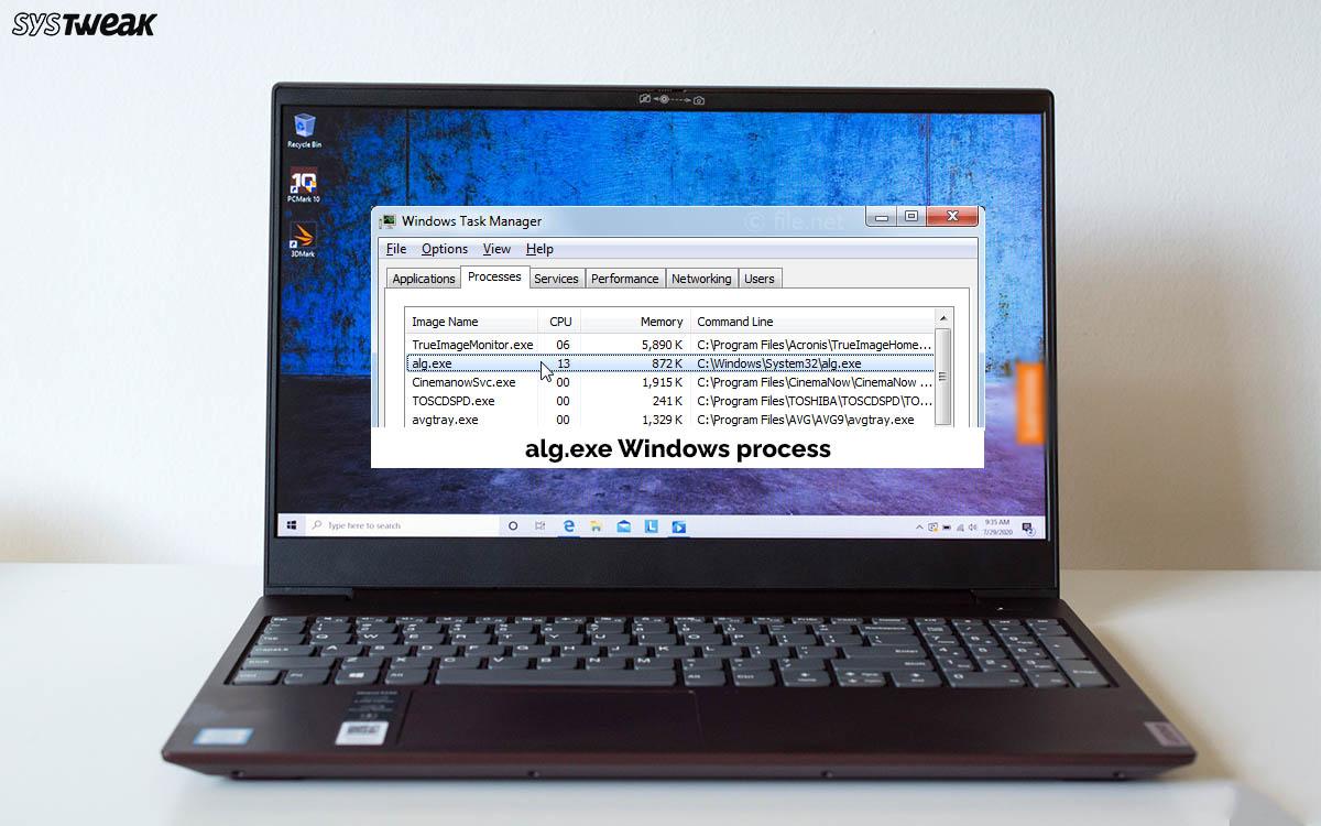What Is alg.exe Windows Process & How Do I Fix alg.exe High CPU Usage
