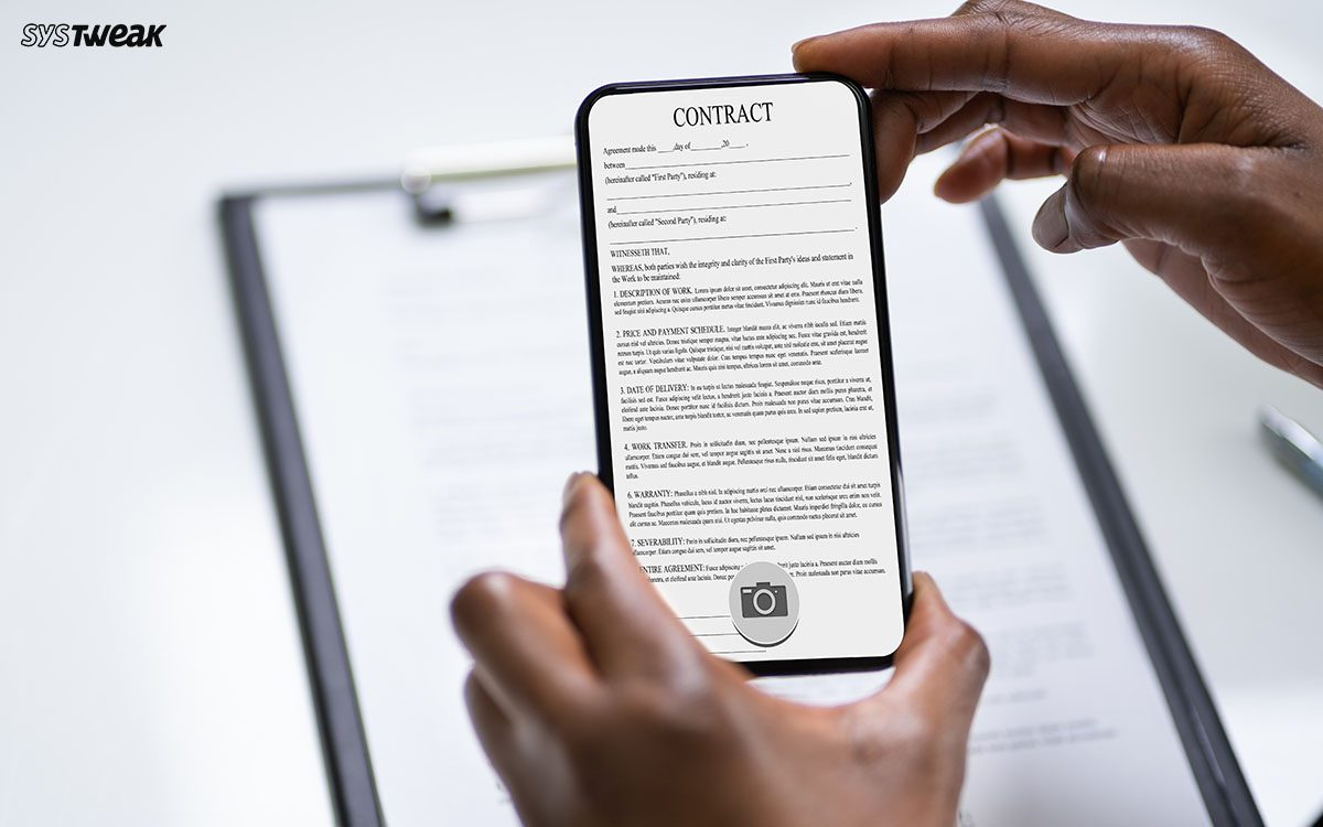 Top 8 Best Document Scanner Apps For Android Iphone 2021