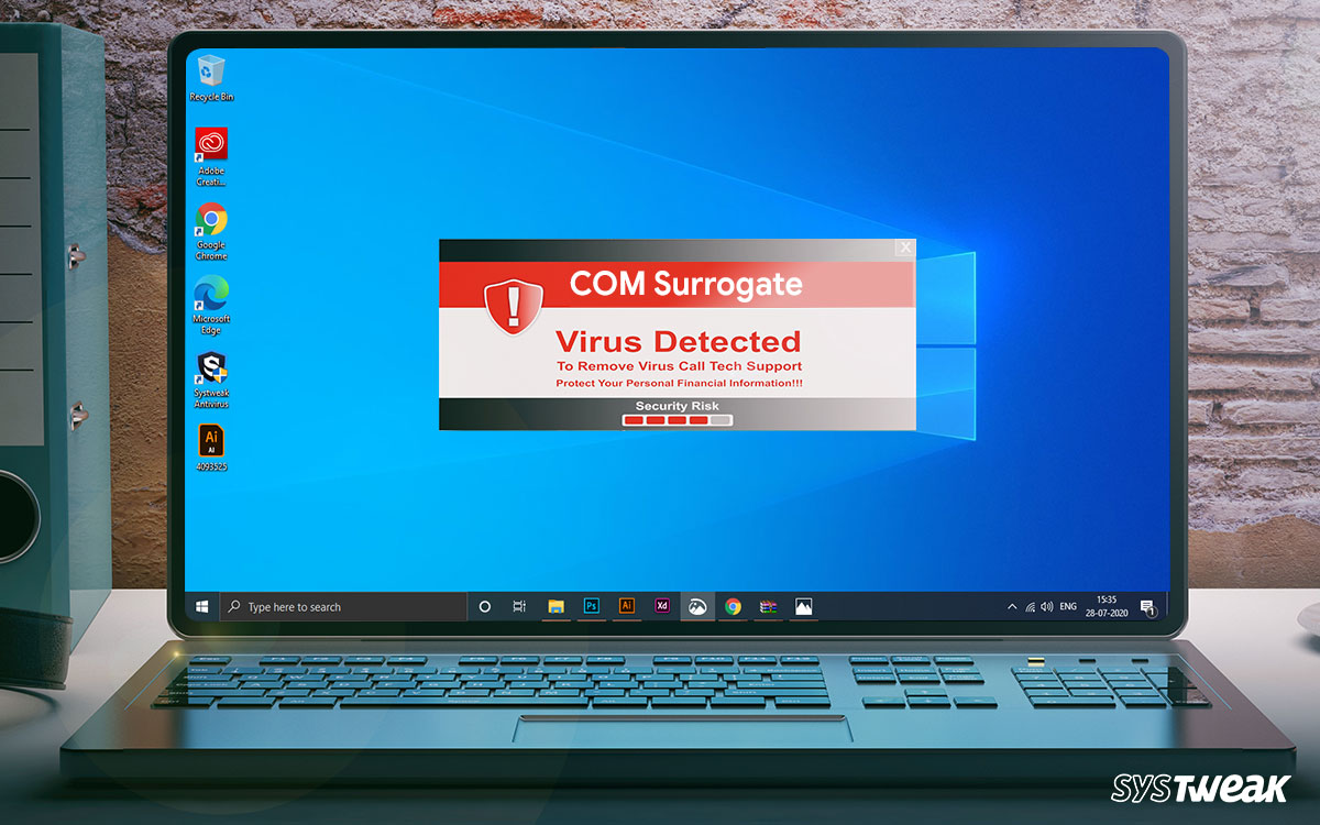 How to Get Rid of COM Surrogate Virus on Windows 10