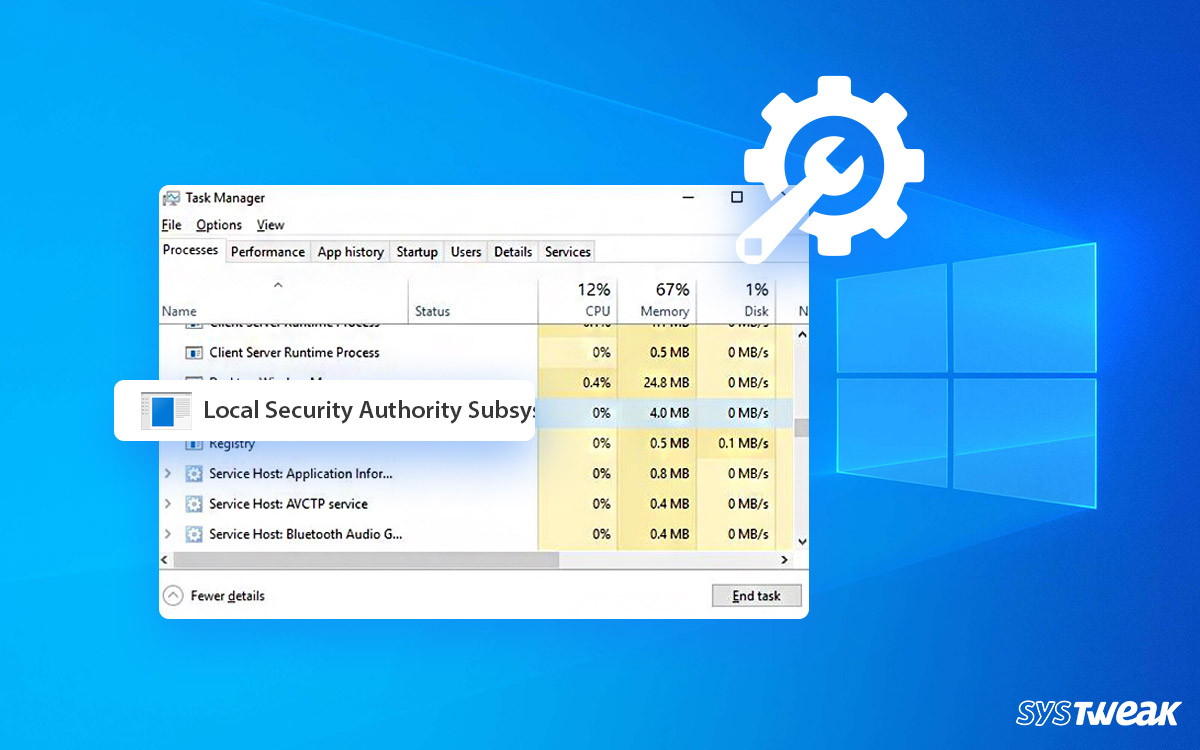 What Is Lsass.exe & How To Fix Lsass.exe High CPU Usage Issue