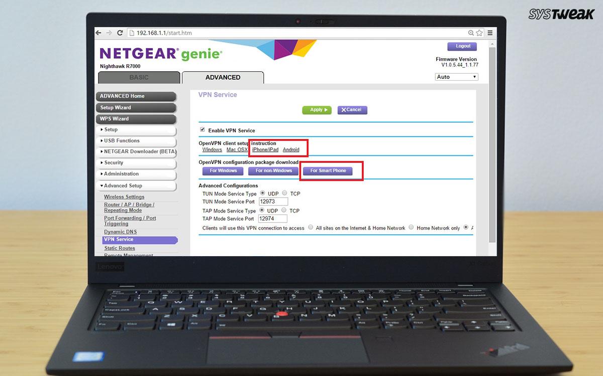 How To Setup VPN On Netgear Router In Windows 10?