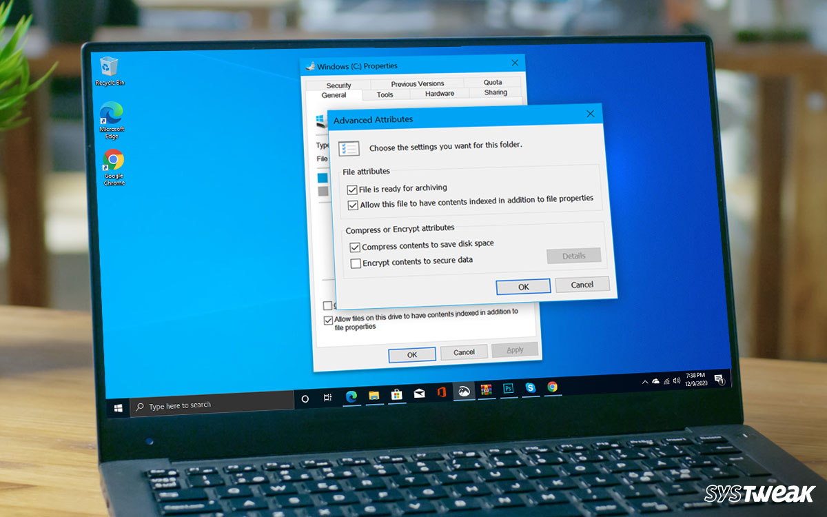 Is it Safe to Use Windows' Full-Drive Compression to Save Space?