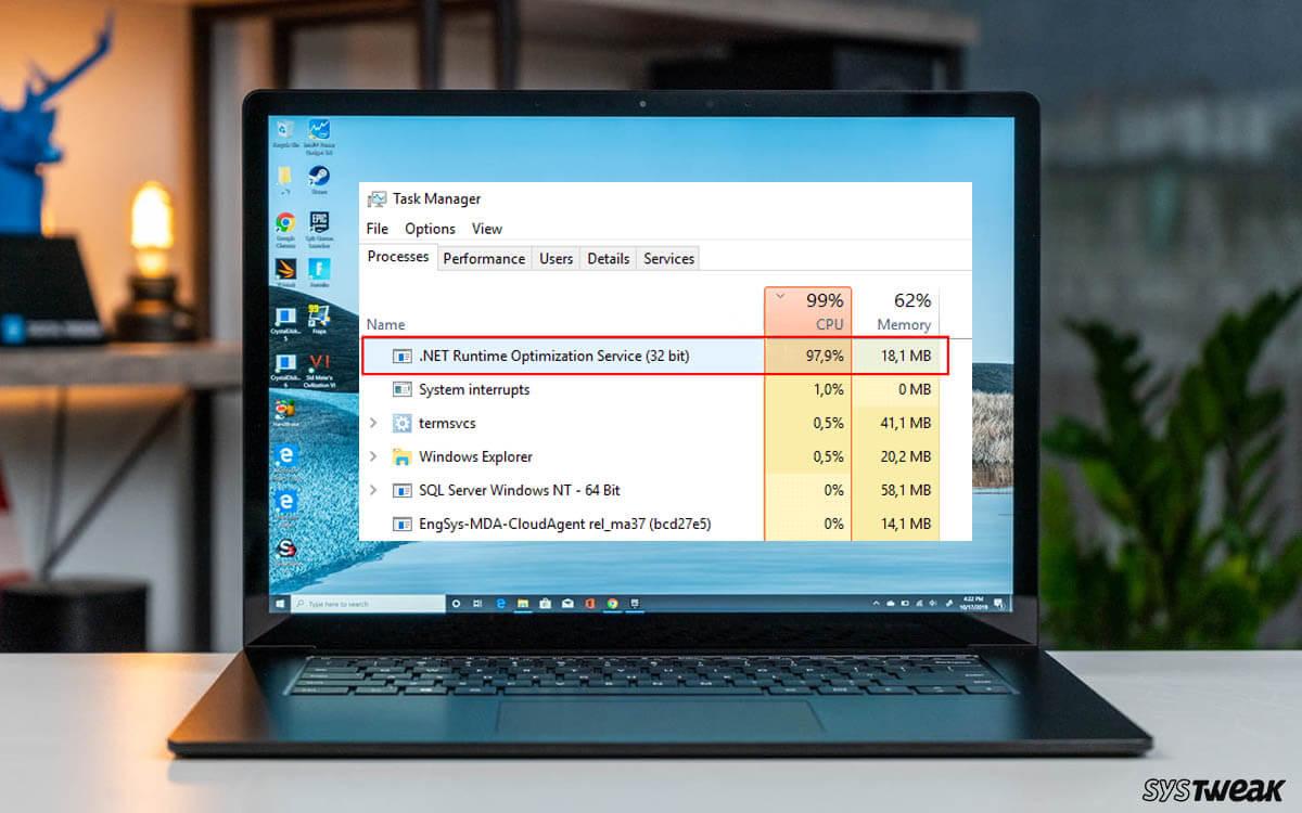 5 Best Ways to Fix .NET Runtime Optimization Service High CPU Usage – Windows
