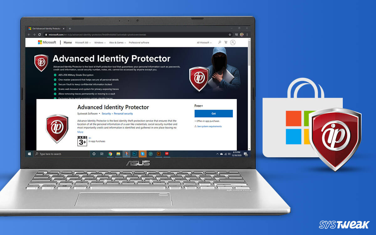 Systweak Introduces Advanced Identity Protector on Microsoft Store