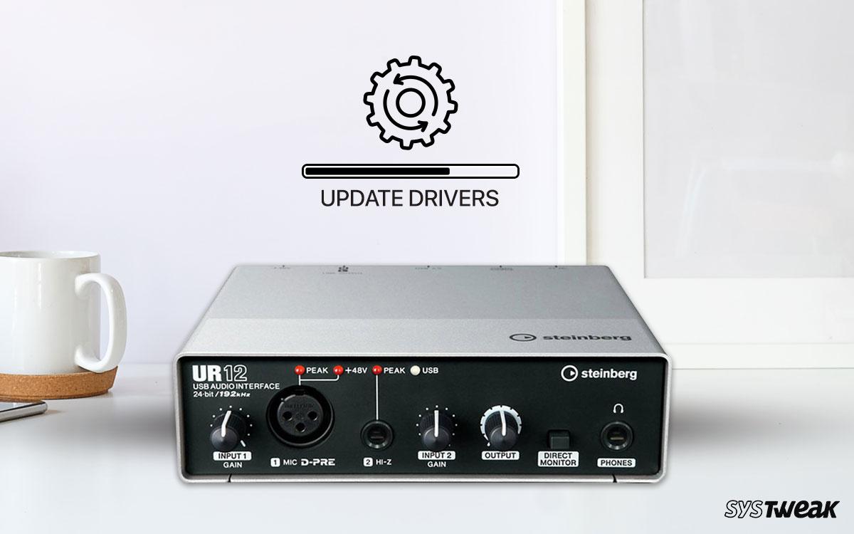 How To Update Yamaha Steinberg USB drivers In Windows 10?