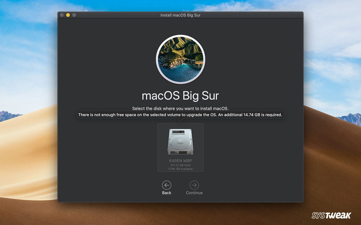 Stuck With 'Not Enough Space To Install macOS Big Sur' Error: What To Do