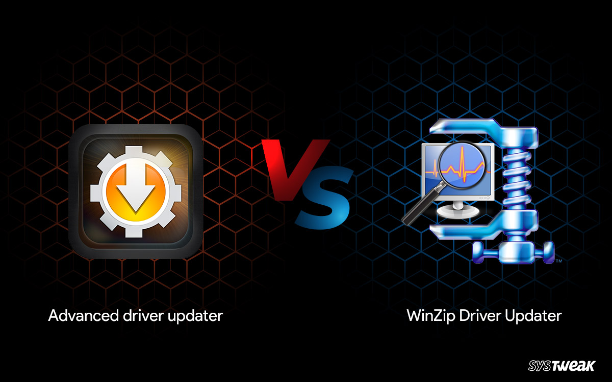Advanced Driver Updater vs WinZip Driver Updater