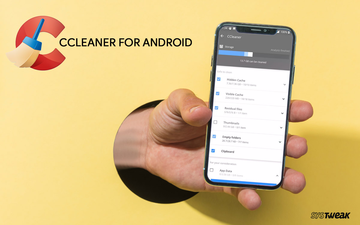 CCleaner For Android Review: Fix Your Phone