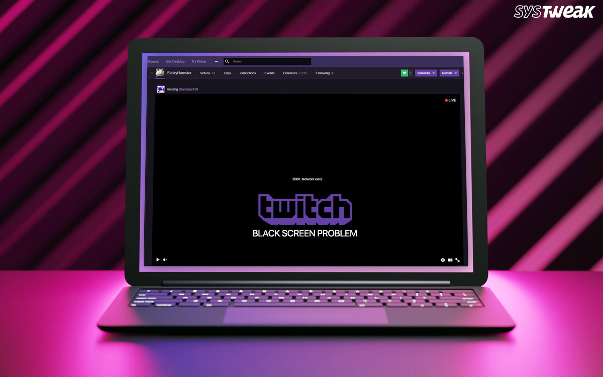 {Solved}: Fix Twitch Black Screen Error On Google Chrome (2021)