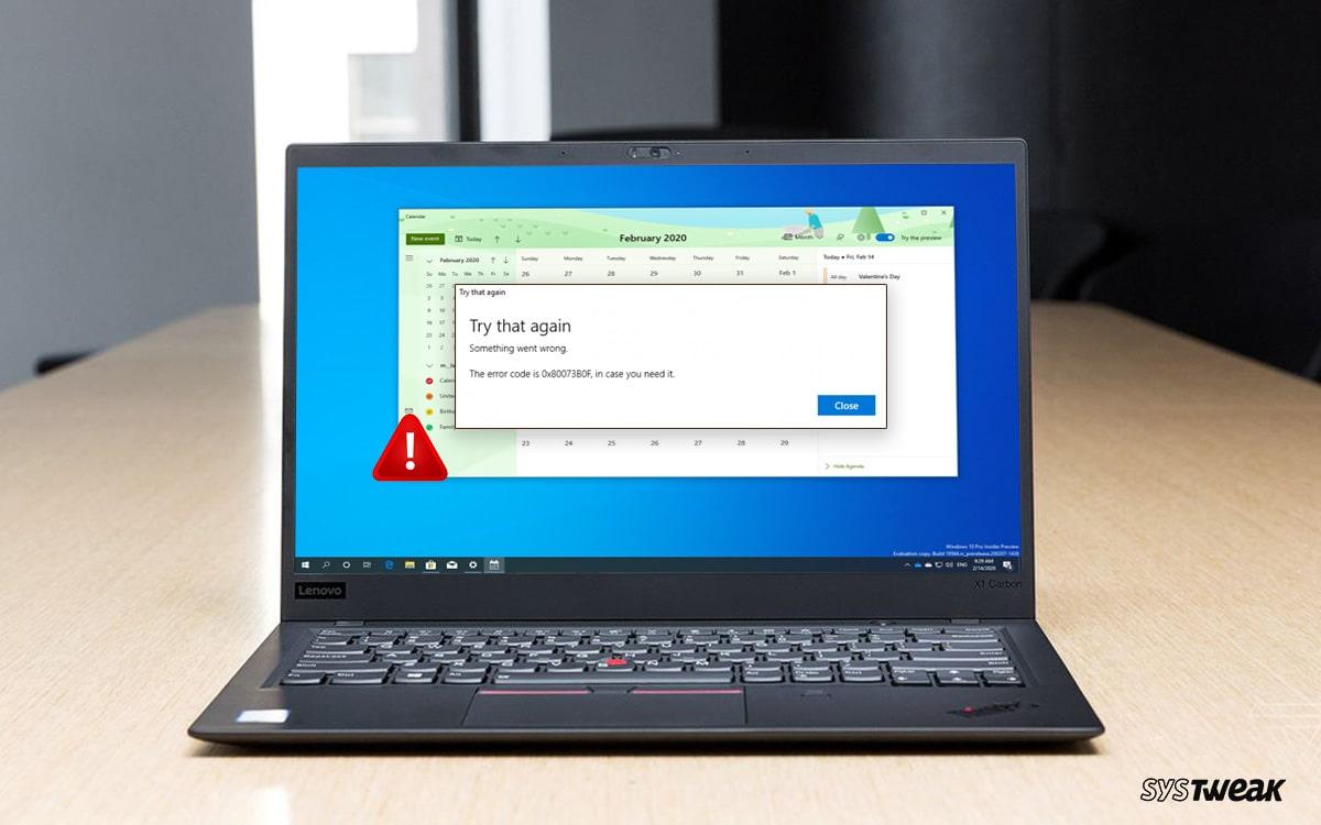 Windows 10 Calendar App not Working? Here's the Fix!