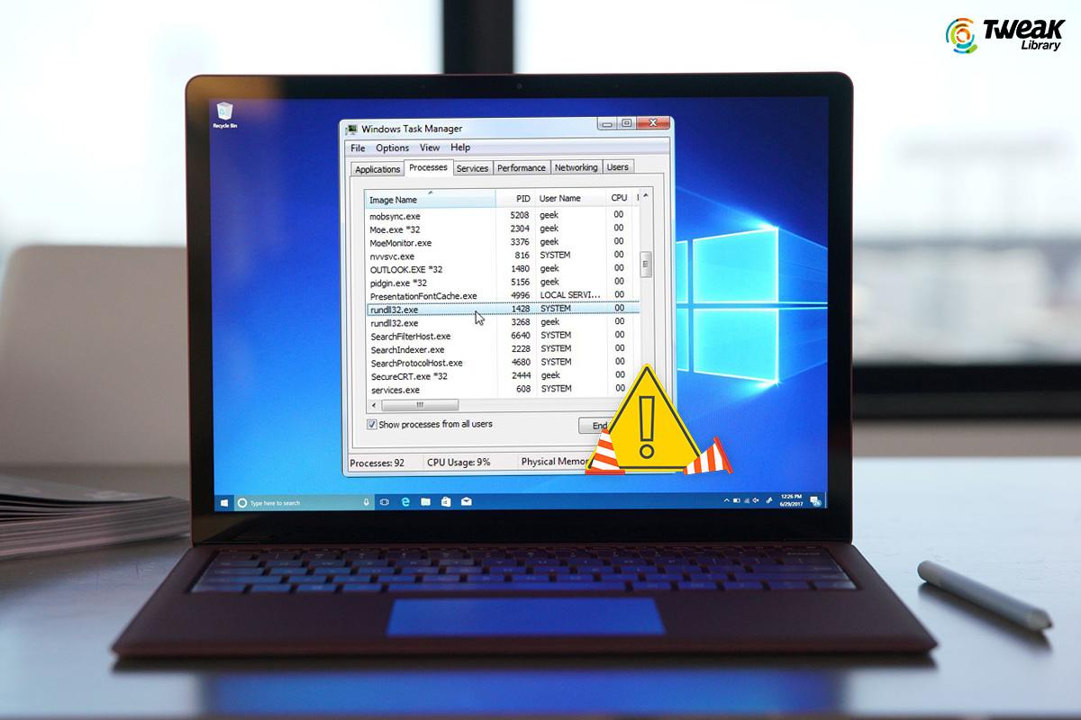 [FIX] Windows Host Process Rundll32 on High CPU Usage
