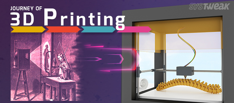Journey of 3D Printing: Technology of the Future –  Infographic
