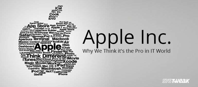 Apple Inc.: Why We Think it's the Pro in IT World
