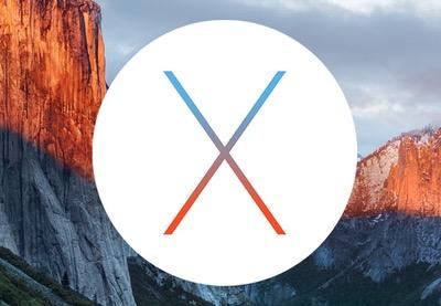 OS X EI Capitan:  What's New?