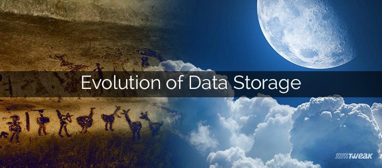 Evolution of Data Storage – Infographic